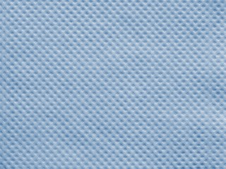wafer texture paper napkin of blue color