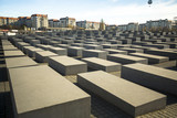 Memorial to the Murdered Jews of Europe, Berlin, Germany. poster