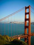 Golden Gate Bridge close vertical - 73436838