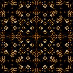 Arabesque Dark Background Pattern