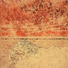 Colorful grunge textured wall background