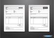 Template of unfill paper tax invoice form