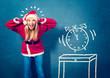 Santagirl with clock five to twelfe - Santagirl 08