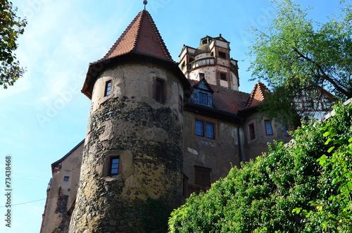canvas print picture Burg Ronneburg Wetterau