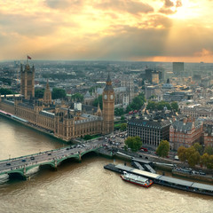 Westminster rooftop view