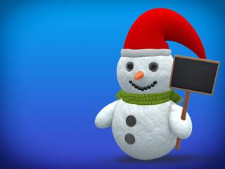 3D - Snowman - Shot 15