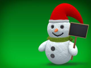 3D - Snowman - Shot 18