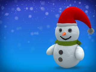 3D - Snowman - Shot 19