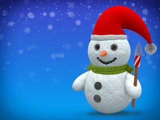 3D - Snowman - Shot 20
