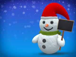 3D - Snowman - Shot 21
