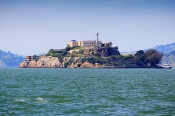 Alcatraz island, California, United States landmark