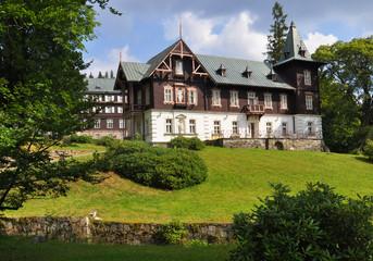 Bathhouse Vila Vlasta in spa Karlova Studanka, Jesenik