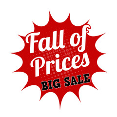 Falling prices big sale stamp