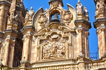 Clerecía de Salamanca, relieve del Espíritu Santo
