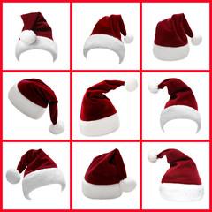 Weihnachtsmützen Set 6