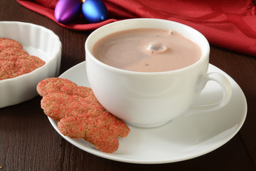 Christmas hot chocolate