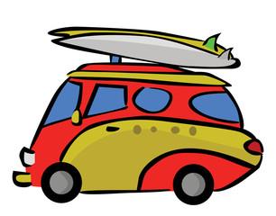 Tour Trip Car Cartoon