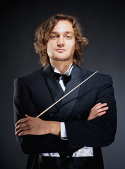 Portrait of a Young Conductor.