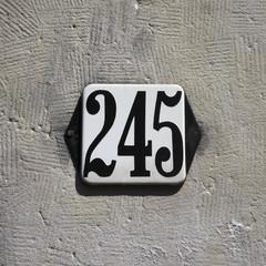 Number 245