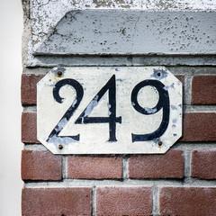 Number 249