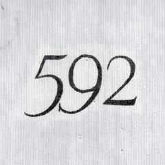 Number 592