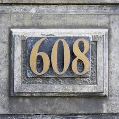 Number 608