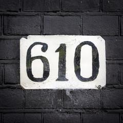 Number 610