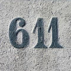Number 611