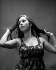 Slender Hispanic Model In 20's