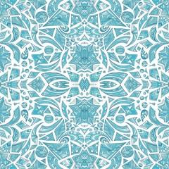 Creative pastel tribal pattern