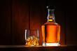 Leinwanddruck Bild - whiskey