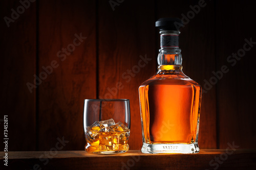 Fotobehang Alcohol whiskey