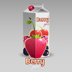 Berry juice pack