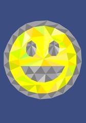 Smile, art vector illustration
