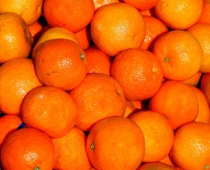 background of clementine oranges are rich in vitamin C