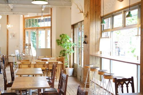 Leinwanddruck Bild カフェ・レストラン