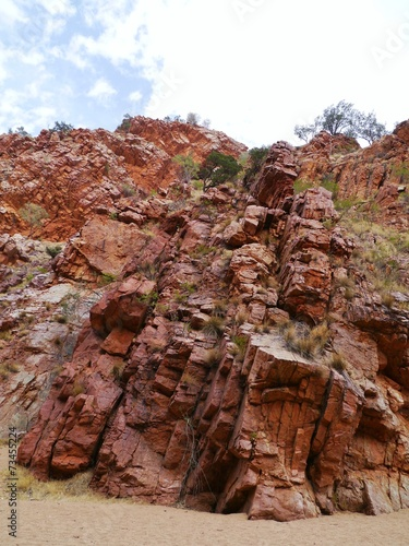 Poster The emily gap in the East McDonnell ranges in australia