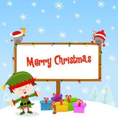 Elf Christmas Message