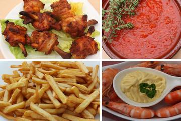 Bar à Tapas : Pilons de poulet - Crevettes Mayo