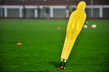 Soccer training dummy