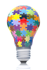 Puzzles with Light Bulb