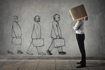 Different businessmen