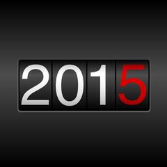 2015 New Year Odometer