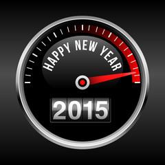 Happy New Year 2015 Dashboard Background