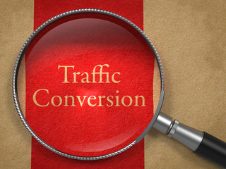 Traffic Conversion through Magnifying Glass.