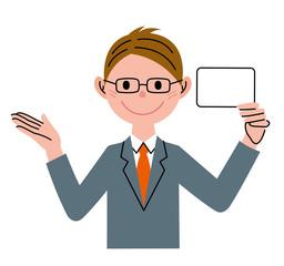 ビジネスマン カード