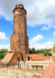 The ruins of the castle of Teutonic Order, Brodnica, Poland