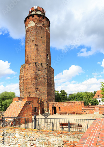 The ruins of the castle of Teutonic Order, Brodnica, Poland - 73458879