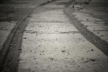 Verlassenes Gleis
