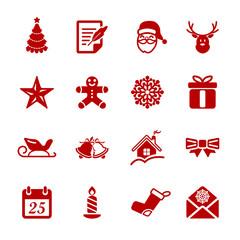 christmas icon set 2, vector eps10